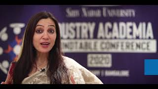 Ms. Anubha Bali, Director, Career Development Cell, Shiv Nadar University | Round table conference