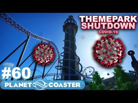 Let's Build the Ultimate Theme Park! - Planet Coaster - Part 60 (Shutdown Themeparks - Lockdown)