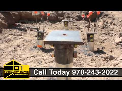 Commercial Foundation Repair, Colorado Mesa University in Grand Junction, CO.