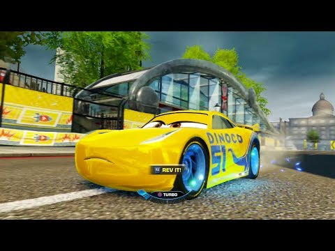Cars 3: Driven to Win (PS4) - Cruz Ramirez in London's Buckingham Sprint (Subscriber Request)