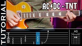 Cómo Tocar TNT De ACDC En Guitarra! Rock Fácil  | Guitarraviva