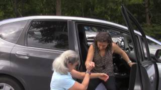 Care Partner Support Tips:  Getting In and Out of the Car