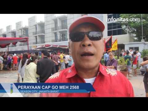 Perayaan Cap Go Meh 2568 di Season City