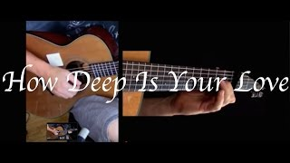 Kelly Valleau - How Deep Is Your Love (Bee Gees) - Fingerstyle Guitar