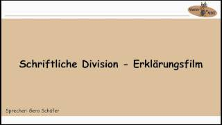 1.4.1 SCHRIFTLICHE DIVISION ERKLÄRUNGSFILM