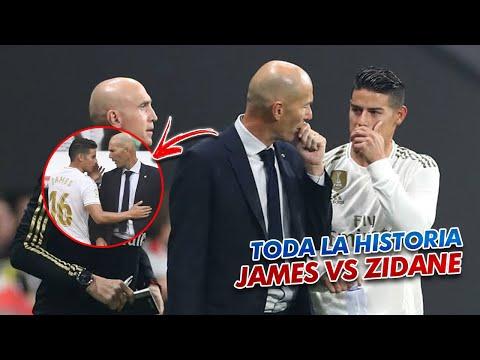 """Download TODA la historia de """"ODIO"""" entre James y Zidane en un VÍDEO Mp4 HD Video and MP3"""