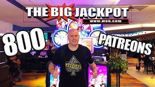 🔆 800 Patreon Live High Limit Slot Celebration 🔆   The Big Jackpot