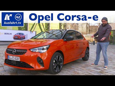 2020 Opel Corsa-e First Edition (F) - Kaufberatung, Test deutsch, Review, Fahrbericht Ausfahrt.tv