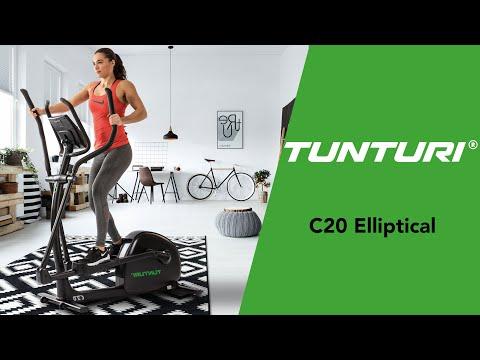 Promovideo: Eliptický trenažér TUNTURI Competence C20 R