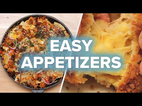 4 Quick Appetizers For Your Next Gathering • Tasty