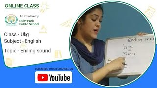 Learn about the Ending Sounds | Engish Class for UKG Students | Ruby Park Public School, Kolkata Thumbnail