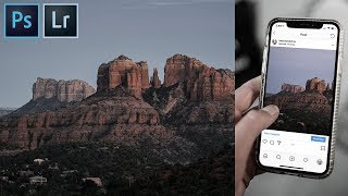 Create a SEAMLESS Multi Post PANORAMA for Instagram