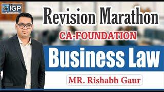 CA-Foundation Business Law Revision Marathon