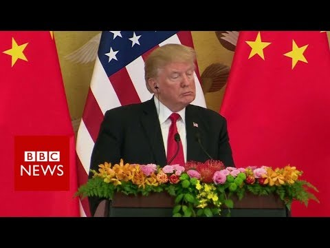 Donald Trump's impact on trade in Asia – BBC News