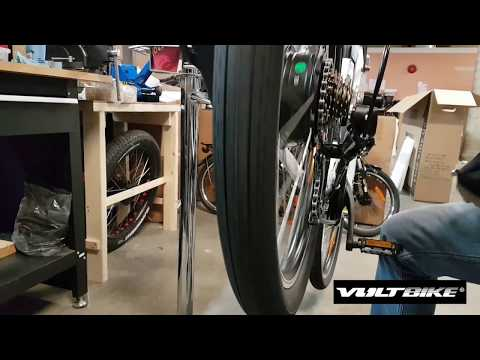 Adjusting Shimano Tourney derailleur on your VoltBike