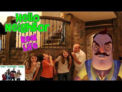 HELLO NEIGHBOR REAL LIFE 2 / That YouTub3 Family