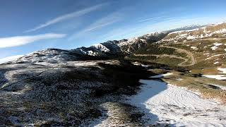 "Fresh Snow, Late June // 7"" FPV Drone Cruising @ 12,000+ Feet"