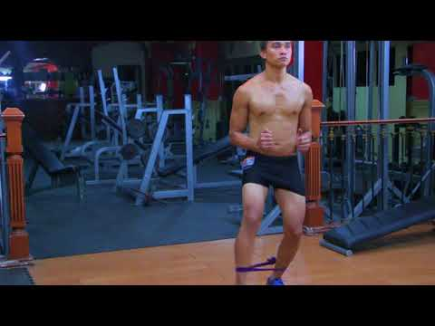 Forward Band Walk, Tutorial, Exercise Video, Workout, SEXioFIT