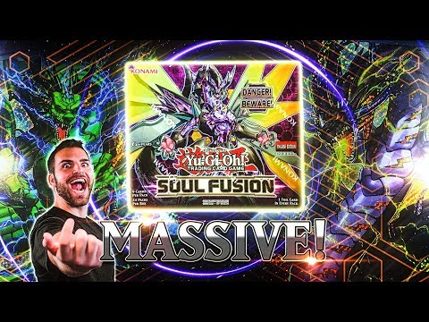 *NEW* YuGiOh MASSIVE Soul Fusion Box Opening & Review! THUNDER!!