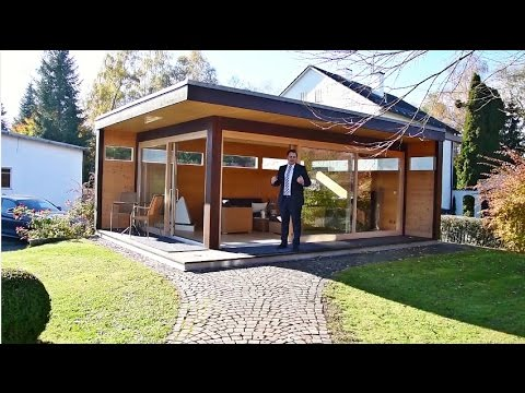 Modernes Gartenhaus