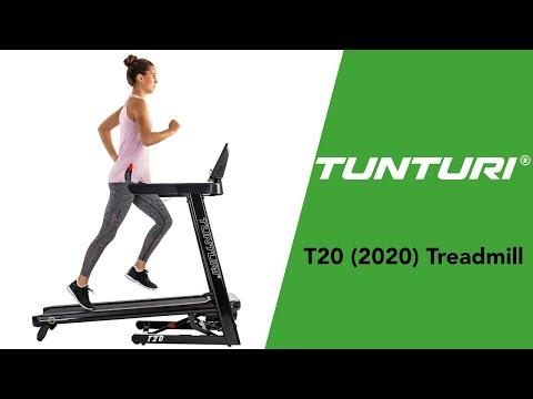 Promovideo: Běžecký pás TUNTURI T20 Competence