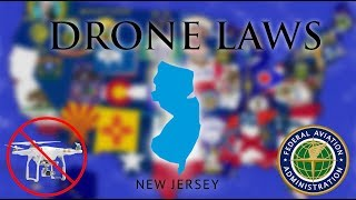 Where Can I Fly in New Jersey? - Every Drone Law 2019 - Newark, Jersey Atlantic City (Episode 30)