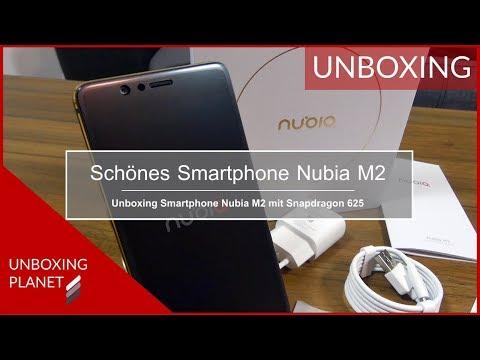 Unboxing Smartphone Nubia M2 mit Snapdragon