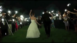 Wedding Sparklers Send-off