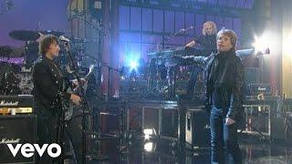 Bon Jovi - Keep The Faith (Live on Letterman)