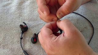 Jabra Rox wireless earbuds review + hack/fix for earwings falling off / getting lost!