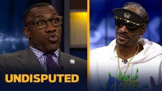 Snoop Dogg comes bearing gifts for Shannon, talks LeBron's Lakers, Steelers, USC & more | UNDISPUTED