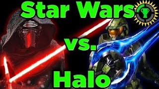 Game Theory: Star Wars Lightsaber Vs Halo Energy Sword
