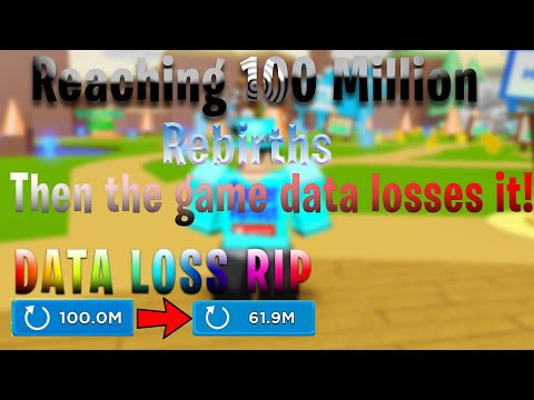 🧲REBIRTHING 100 MILLION TIMES IN MAGNET SIMULATOR THEN, THE GAME DATA LOSSES IT!⚡