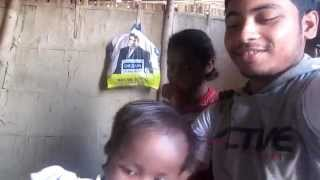 preview picture of video 'Kishan Walking On His Home(20th of March'15 DURGA MOM GLOBAL HELP CENTER CHARITY WORK)'