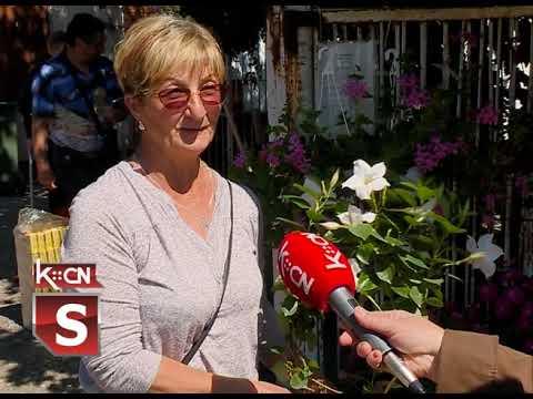 Ponuda cveća na pijaci