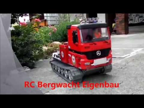 RC Bergwacht/RC Bergrettung/RC mountain rescue service/Conrad Kettenfahrzeug