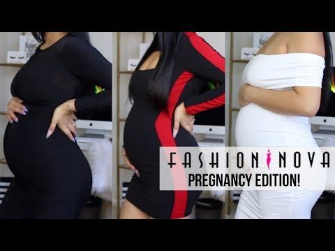 FASHION NOVA TRY ON HAUL ( PREGNANCY EDITION)