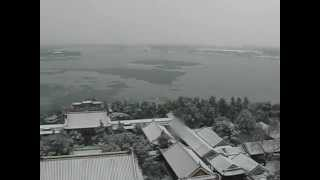 preview picture of video 'Panaromic View of the Summer Palace in Beijing, China During Winter'