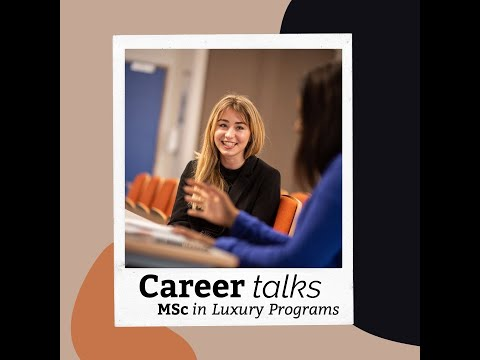 Career in Luxury - Alumni Talk!