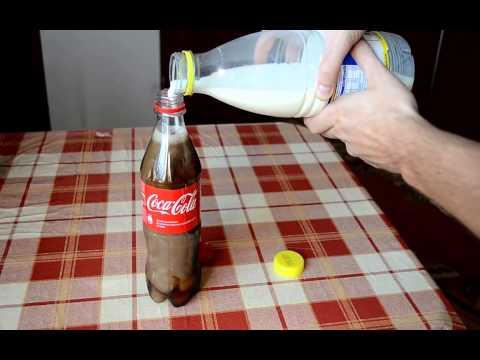 Video BAHAYA! JANGAN MENCAMPUR SODA DENGAN SUSU!