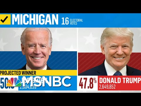 Michigan Certifies Election Results, Making Biden's Win Official | Deadline | MSNBC