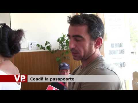 Coadă la pașapoarte