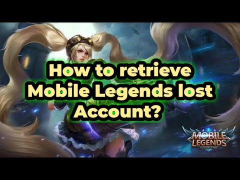 How To Recover My Account In Mobile Legends - ▷ ▷ PowerMall