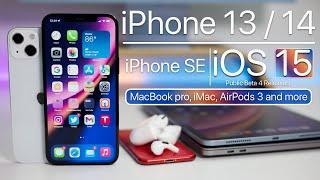 iPhone 13, iPhone 14, iPad mini, iOS 15 Beta 4, iOS 14.7.1, AirPods 3 and more