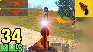 NO AMMO!! CAN I WIN LAST GUY WITH A FLARE GUN? | SOLO VS SQUAD PUBG MOBILE