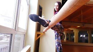 Растяжка ног для начинающих