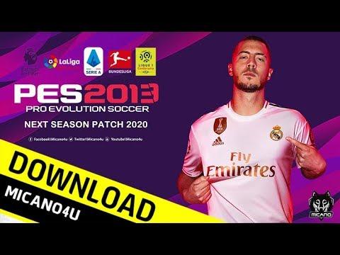 PES 2013 | Next Season Patch 2020 Download & Install (PC/HD)