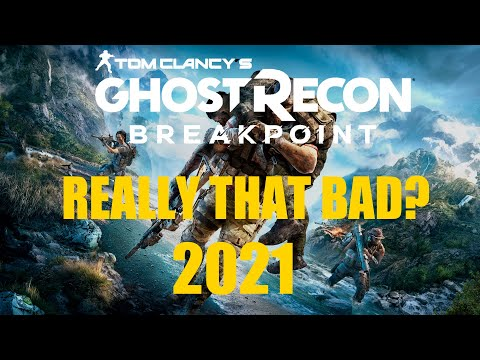 Ghost Recon Breakpoint REVIEW 2021 |Really that bad? |Worth it? |Tom Clancy's Ghost Recon Breakpoint