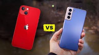 iPhone 13 vs Galaxy S21 (Spec Comparison)