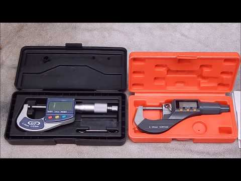 Another Chinese digital micrometer from Banggood